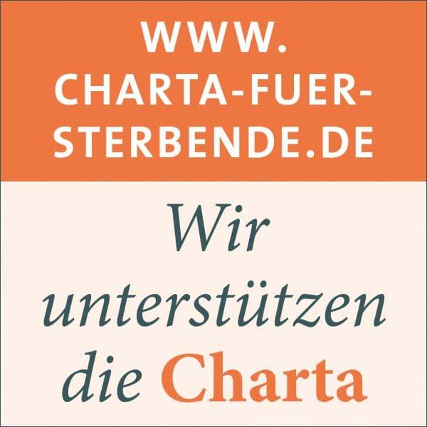 Wir unterstützen die Charta schwerstkranker Menschen